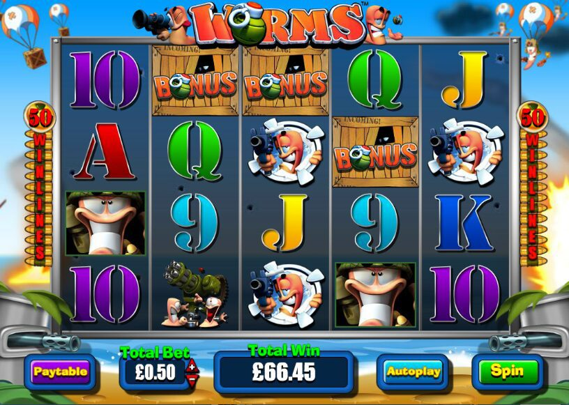 Worms Slot Review
