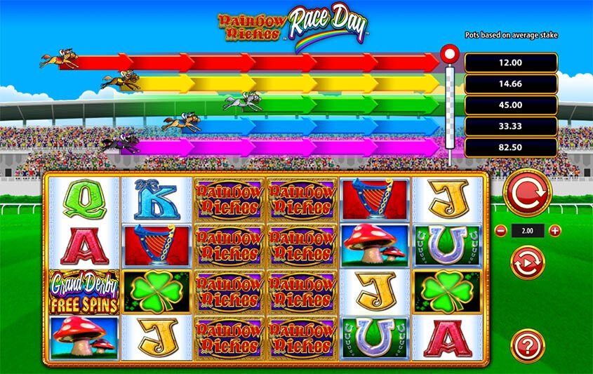 Rainbow Riches Race Day Features 1