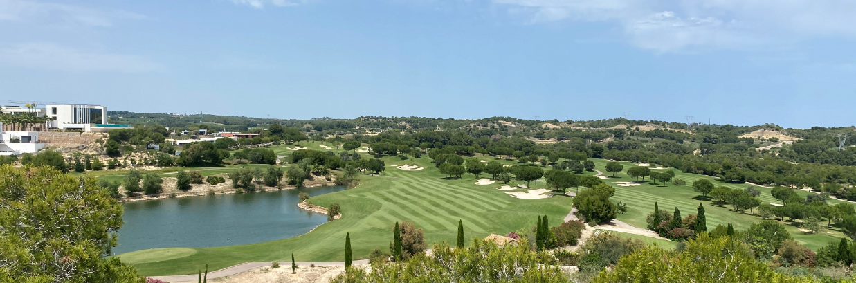 The golf course at Las Colinas Golf